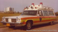 Vintage ambulances of the 1950s 1960s 1970s & 80s covering the City of Winnipeg & rural Manitoba areas - private ambulances often associated with the funeral home operations of a given Manitoba area