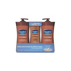 Vaseline Intensive Care Cocoa Butter Lotion, Cocoa Radiant (20.3 oz.,... ❤ liked on Polyvore featuring beauty products, bath & body products and body moisturizers