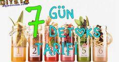 7 Gün 7 Detoks Tarifi | Sağlıklı Zayıfla Mutlu Kal