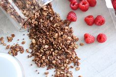MY HEALTHY CHOCOLATE CEREAL My healthy chocolate cereal recipe In this post, I'll be sharing my favorite healthy chocolate cereal recipe with you! This cereal Chocolate Cereal, Healthy Chocolate, Cereal Recipes, Cocoa, Dairy Free, Healthy Recipes, Healthy Food, Meals, My Favorite Things