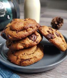 Biscuit Vegan, Cookie Vegan, Desserts With Biscuits, Cookies Et Biscuits, Beurre Vegan, Patisserie Vegan, Vegetarian Recipes, Healthy Recipes, Ice Cream Cookies
