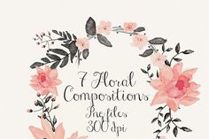 Floral compositions - Illustrations - 1