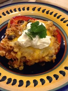 Southwestern Stuffed Pepper