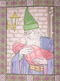 13 Best DS's Harry Potter Colouring Book - Completed Pages ...