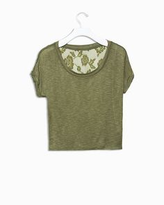 pair with some leggings and combat boots or a skater skirt and heels and you're good to go!