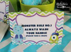 Monsters University Pre-Scare School | CatchMyParty.com