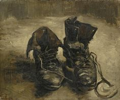 off Hand made oil painting reproduction of A Pair of Shoes, one of the most famous paintings by Vincent Van Gogh. In Vincent Van Gogh paints A Pair of Shoes, and even though today it is seen as a standard subject to portray, it . Art Van, Van Gogh Art, Vincent Van Gogh, Van Gogh Museum, Desenhos Van Gogh, Van Gogh Pinturas, Van Gogh Paintings, Canvas Paintings, Canvas Art