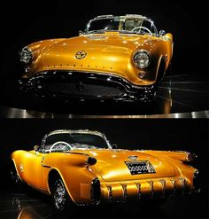 1954 Oldsmobile Rocket F88 — one of the world's rarest automobiles, one car exists of only two ever produced.