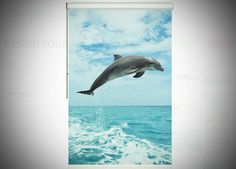 Design your own blind - One for the Dolphins and their fans! Awesome pics added to our Animal Fun collection - here's the link http://galleryblinds.com.au/design-your-blind/?search=dolphin