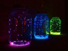 glow stick jars