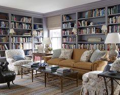Contemporary library design ideas