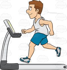 A Man On A Treadmill #activity #adultmale #cardioworkout #condition #endurance #exercise #fitness #fitnessmachine #gentleman #goodcondition #goodshape #gymequipment #health #healthy #human #humanbeing #individual #machine #male #maleperson #man #mortal #person #physicalfitness #run #running #shape #shaping #somebody #someone #sweating #treadmill #workout #vector #clipart #stock