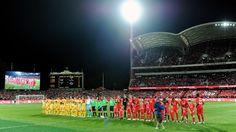 Liverpool FC vs Adelaide United FC. Monday 20th July 2015. Adelaide, Australia. LFC Tour 2015