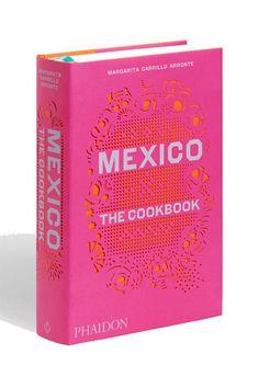 Incredible book cover design. Phaidon Mexico: The Cookbook,