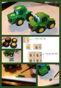 John Deere Tractor Tutorial by Peggy Does Cake - The Cake Directory - Tutorials and More