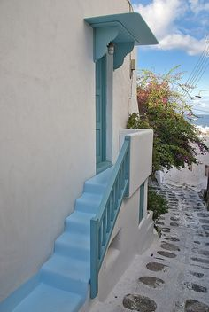 GREECE CHANNEL | Mykonos - Blue Stairs