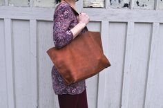 Hey, I found this really awesome Etsy listing at https://www.etsy.com/listing/229129621/leather-tote-bag-purse-handbag-handmade