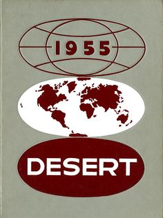 1955 Desert, University of Arizona Yearbook