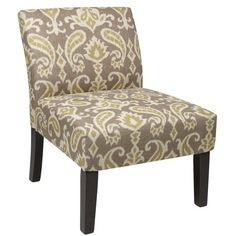 I pinned this Laguna Accent Chair in Ikat Gray from the Ave Six event at Joss and Main!