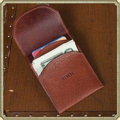 Col Littleton Front Pocket Wallet with Fold-Over Flap-SR