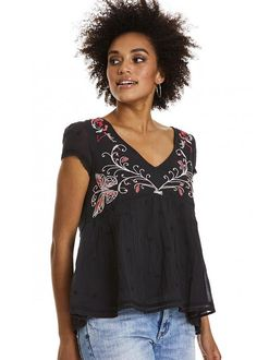 Odd Molly Sort Bluse 617M-625 Entertain Blouse - almost black