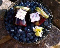 handgemachte Heidelbeere-Marmelade mit Vanille - das perfekte Geschenk - aus der Marmeladenmanufaktur fruchttatzen.de
