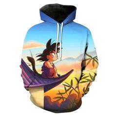 Kid Goku Dragon Ball Z Hoodie - JAKKOUTTHEBXX - JAKKOU††HEBXX