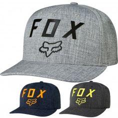 reputable site 092a7 b8be4 Fox Racing Number 2 Mens Caps Motorcross Dirt Bike Off Road Flexfit Hats  Off Road Dirt