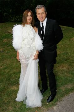 Carine Roitfeld in Givenchy Couture.