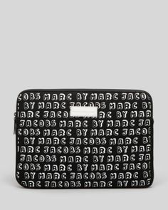 new style 3faf0 f5756 MARC BY MARC JACOBS Computer Case - Dynamite Logo Neoprene 13