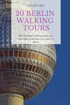 Explore the very best things to do in Berlin. Explore Berlin with our 20 unique walking tours of Berlin, that you can do by yourself! The best of Berlin! Berlin Travel, Germany Travel, Travelling Tips, Europe Travel Tips, Germany Castles, International Travel Tips, Cool Cafe, Life Is An Adventure, Travel Information