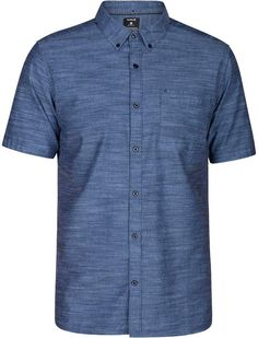 Relish the soft, cotton feel of this One and Only button-down chambray shirt from Hurley. It's bound to become an instant staple in your casual look. How To Look Classy, Look Cool, Stylish Men, Men Casual, Casual Outfits, Casual Suit, Casual Blazer, Casual Winter, Casual Summer