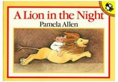 A Lion in the Night by Pamela Allen (1985 Paperback) - Fairly Good Condition