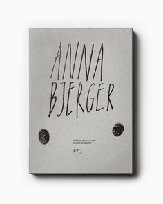 Bedow — Examples of Work — Anna Bjerger