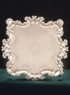Salver. English (London). Lewis Pantin I, 1735–36. Silver huguenot silversmiths - Bing Images