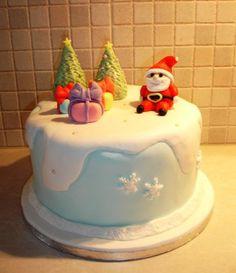 Christmas cake  Cake by LoveforSugar