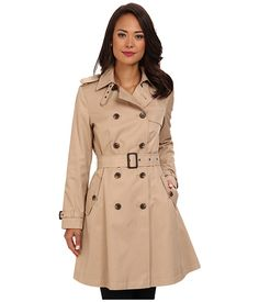 Obsessing over this pink trench coat with faux-leather piping and ...