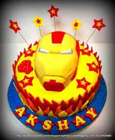 Iron Man Cakes Singapore