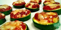 Zucchini Mini Pizzen, low carb Diät rezept