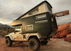 Ready for some extreme camping? AT Action Jeep Camper
