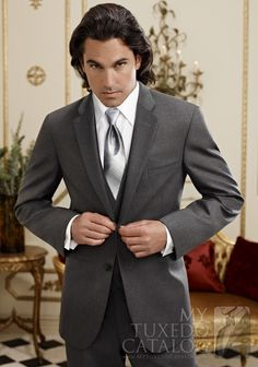 Steel Grey 'Twilight' Suit from MyTuxedoCatalog.com