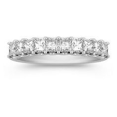 1 ct. Princess Cut Diamond Anniversary band