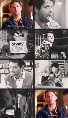 "(gif set) ""Because he's a weird guy, ok? He's a weird, dorky little guy."" 
