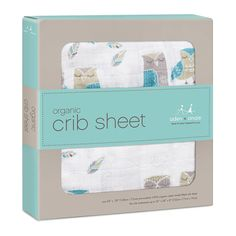 Aden + Anais collaborated with Newton to create breathable crib sheets. https://www.adenandanais.com/wise-guys-organic-crib-sheet-9188