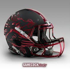 Concept Helmet Gamecocks
