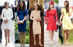 Los zapatos favoritos de la duquesa de Cambridge #royals #royalty