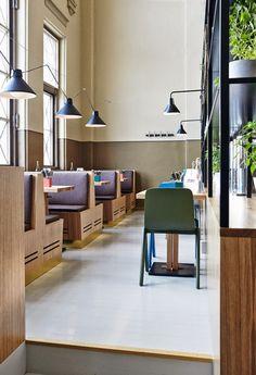 Industrial-esque: Restaurant Story in Helsinki by Joanna Laajisto Creative Studio | photography by Mykko Ryhänen