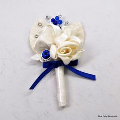 Boutonniere to match Princess Rose:) #wedding #bouquet