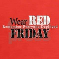 Wear red friday