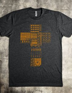 """This Worship Band Sound Engineer t-shirt is a simple and direct designed especially for the thankless and oft forgot (unless there's a problem) """"sound guy."""" However, this shirt is appealing enough, most any on the worship team could wear it."""